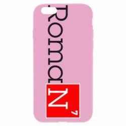 Чехол для iPhone 6/6S Roman