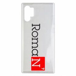Чехол для Samsung Note 10 Plus Roman