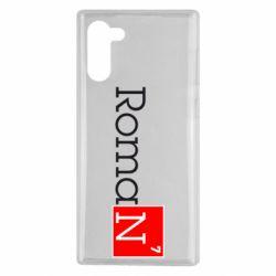 Чехол для Samsung Note 10 Roman