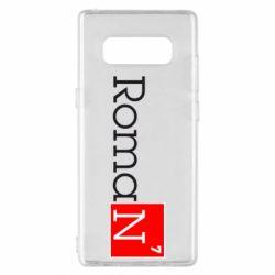 Чехол для Samsung Note 8 Roman