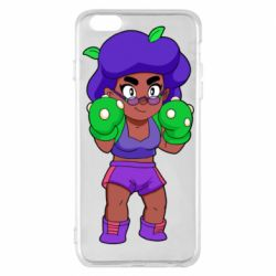 Чехол для iPhone 6 Plus/6S Plus Rosa Brawl stars