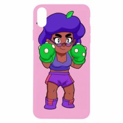 Чехол для iPhone X/Xs Rosa Brawl stars