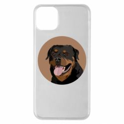 Чехол для iPhone 11 Pro Max Rottweiler vector