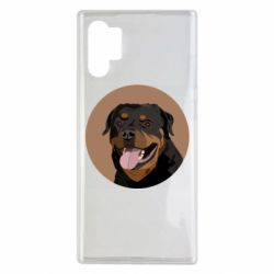Чехол для Samsung Note 10 Plus Rottweiler vector