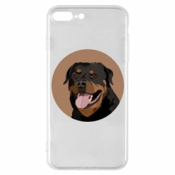 Чехол для iPhone 7 Plus Rottweiler vector
