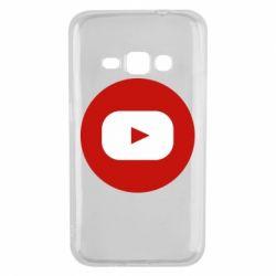 Чохол для Samsung J1 2016 Round logo