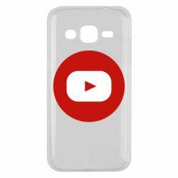 Чохол для Samsung J2 2015 Round logo