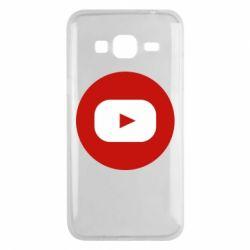 Чохол для Samsung J3 2016 Round logo