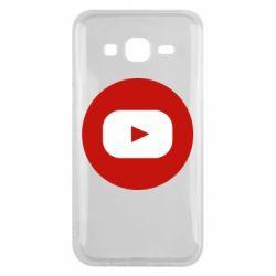 Чохол для Samsung J5 2015 Round logo