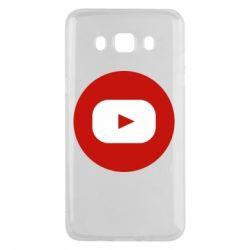 Чохол для Samsung J5 2016 Round logo