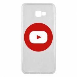 Чохол для Samsung J4 Plus 2018 Round logo
