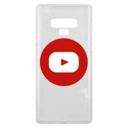 Чохол для Samsung Note 9 Round logo