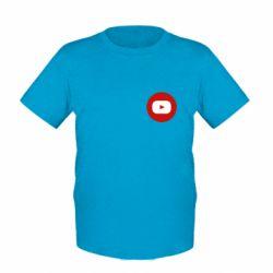 Дитяча футболка Round logo