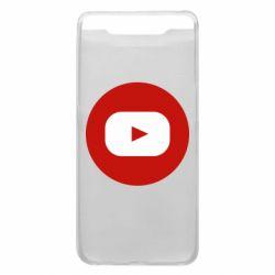 Чохол для Samsung A80 Round logo