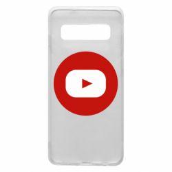 Чохол для Samsung S10 Round logo