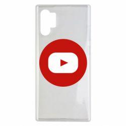 Чохол для Samsung Note 10 Plus Round logo