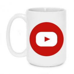 Кружка 420ml Round logo
