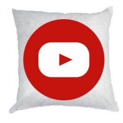 Подушка Round logo