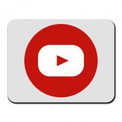 Килимок для миші Round logo