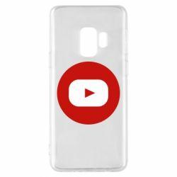 Чохол для Samsung S9 Round logo