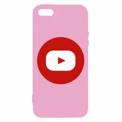 Чохол для iphone 5/5S/SE Round logo