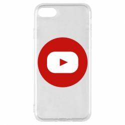 Чохол для iPhone 7 Round logo