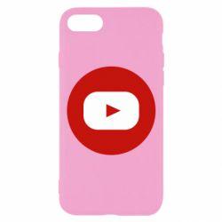 Чохол для iPhone 8 Round logo