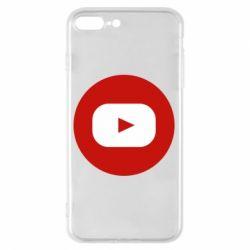 Чохол для iPhone 8 Plus Round logo