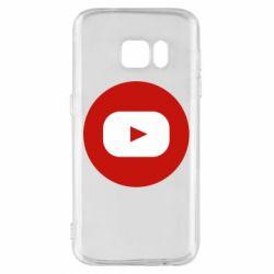 Чохол для Samsung S7 Round logo