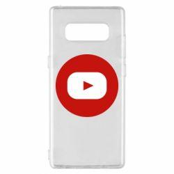 Чохол для Samsung Note 8 Round logo