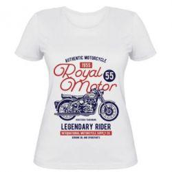 Жіноча футболка Royal Motor 1955