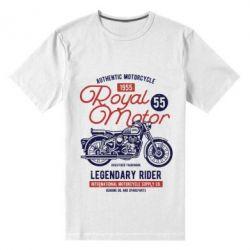 Чоловіча стрейчева футболка Royal Motor 1955