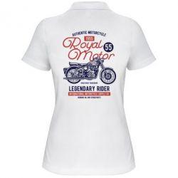 Жіноча футболка поло Royal Motor 1955