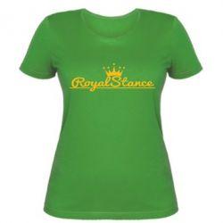 Женская футболка Royal Stance