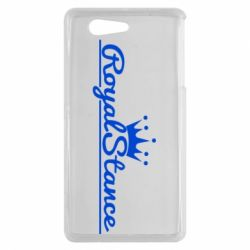 Чехол для Sony Xperia Z3 mini Royal Stance - FatLine