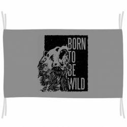 Флаг Рожден Быть Диким Медведь