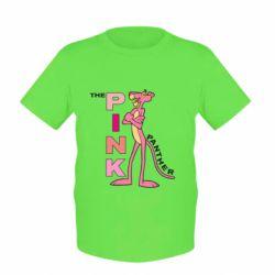 Детская футболка Розовая пантера