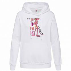 Женская толстовка Розовая пантера