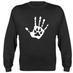 Реглан (свитшот) Рука волка - FatLine