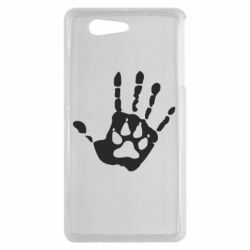 Чехол для Sony Xperia Z3 mini Рука волка - FatLine