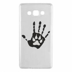 Чехол для Samsung A7 2015 Рука волка