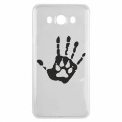 Чехол для Samsung J7 2016 Рука волка