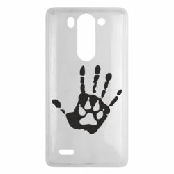 Чехол для LG G3 mini/G3s Рука волка - FatLine
