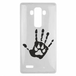 Чехол для LG G4 Рука волка - FatLine