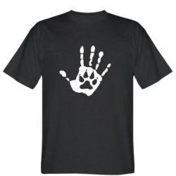 Мужская футболка Рука вовка - FatLine