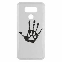 Чехол для LG G6 Рука волка - FatLine