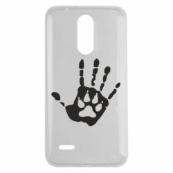 Чехол для LG K7 2017 Рука волка - FatLine