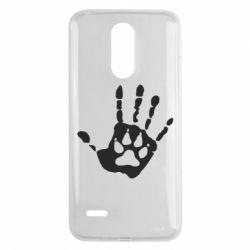 Чехол для LG K8 2017 Рука волка - FatLine