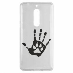 Чехол для Nokia 5 Рука волка - FatLine