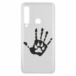 Чехол для Samsung A9 2018 Рука волка